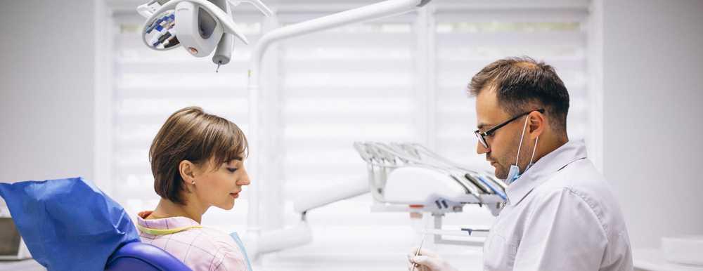 dentist patient gum health